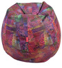 Dhoom 3 Mascot Theme Filled Bean Bag in Multi Colour by Orka