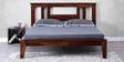 Cambria King Bed in Provincial Teak Finish by Woodsworth