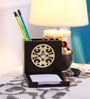 Cocktail Wooden Brown New SS3 Pen Stand