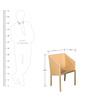 Coffee Table Set (1T + 2C) in Honey Beige by Vetra