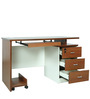 Computer/ Study Table in Brown Color by Penache Furnishings
