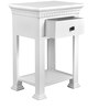 Corner Table in White Colour by The Yellow Door