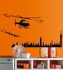 Cortina PVC Vinyl Fly In The Sky Theme Wall Sticker