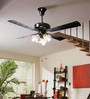 Crompton Greaves Uranus Black Chrome 47.24 Inch Ceiling Fan