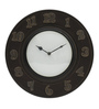 Alicja Wall Clock in Multicolour by CasaCraft