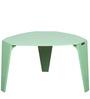 Curva Coffee Table in Sea Green Colour by DesignBar