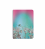 DailyObjects Multicolour Paper Rainbow Dandelion Macro with Droplets Plain A6 Notebook