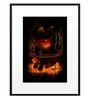 DailyObjects Paper Catfish At Night Framed Art Print