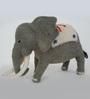 De Kulture Works Multicolour Felt Elephant Showpiece