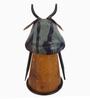 De Kulture Works Multicolour Iron Recycled Cow Bottle Top Showpiece