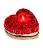 Decoaro Rose Big Heart Candle