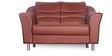 Diva Two Seater Sofa in Brown Finish by Godrej Interio