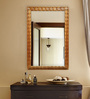 Lucas Minimalist Mirrors in Brown by CasaCraft