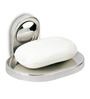 Doyours Glossy Stainless Steel 4.3 x 3.5 x 2.5 Inch Soap Dish