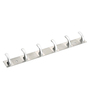 Doyours Stainless Steel & Metal Silver Two Tone Hook Rail