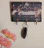 E-Studio Multicolour Sandstone Last Supper Key Holder