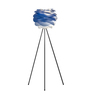 Slipknot Floor Tripod Lamp in Blue by Bohemiana