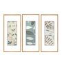 Elegant Arts and Frames Paper & Metal 5 x 1 x 14 Inch Framed Digital Art Print - Set of 3