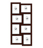 Cruz Collage Photo Frame in Red by CasaCraft