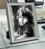Fons Photo Frame in Silver by CasaCraft