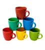 Elite Handicrafts Multicolor Ceramic 150 ML Coffee Mug - Set of 6