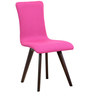 Emiliano Dining Chair (Set of 2) in Magenta Pink Color by CasaCraft