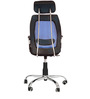 Executive Chair in Black & Blue Color by Karigar