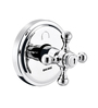 ESSESS by Asian Paints Silver Brass 4-Way Diverter for Concealed Fittings with Built In Non Return Valves