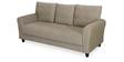 Etios Three Seater Sofa in Light Brown Colour by @Home