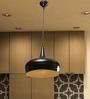 Aldene Ceiling Lamp in Black by CasaCraft