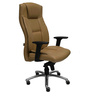 Excellent Director Chair in Beige Colour Genuine Leather by Starshine
