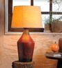 Fabuliv Beige Jute Adolfo Vintage Table Lamp