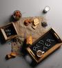 Fabuliv Chalk Board Wood Bed Tea Tray