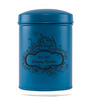 Fabuliv Country Kitchen Blue Wood and Metal 1200ML Cylindrical Canister