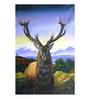 Fizdi Canvas 24 x 0.2 x 36 Inch Moose Drool Unframed Art Painting