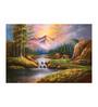 Fizdi Canvas 35 x 0.2 x 24 Inch Beauty of Nature 2 Unframed Art Painting