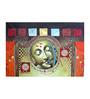 Fizdi Canvas 36 x 0.2 x 24 Inch Murlidhar Unframed Art Painting
