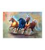 Fizdi Canvas 36 x 0.2 x 24 Inch Three Graces Unframed Art Painting
