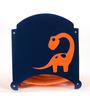 FLYFROG KIDS Dinosaur Blue and Orange Wood and MDF 1.5 Kg Storage Box