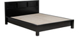 Oakland Queen Bed in Espresso Walnut Finish by Woodsworth