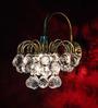 Fos Lighting Transparent Crystals Wall Light