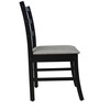 Four Seater Dining Set with Four Chairs in Wenge Color by Crystal Furnitech