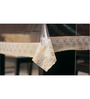 Freelance Lacy Gold PVC 90x60 INCH Table Cover