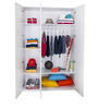 French Collection Wardrobe in Blue Finish by Alex Daisy