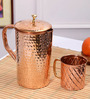 Frestol Copper 2-piece Hammered Jug - Set of 2