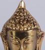 Frestol Golden Brass Buddha Face