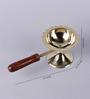 Frestol Golden Brass Mandir Jyot