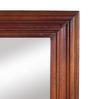 Furniselan Oak Mango Wood Framed Mirror