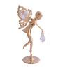 G n G 24K Gold Plated with Swarovski Crystals Fairy Showpiece