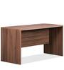 Genius Table in Acacia Dark & Silver Grey by Debono